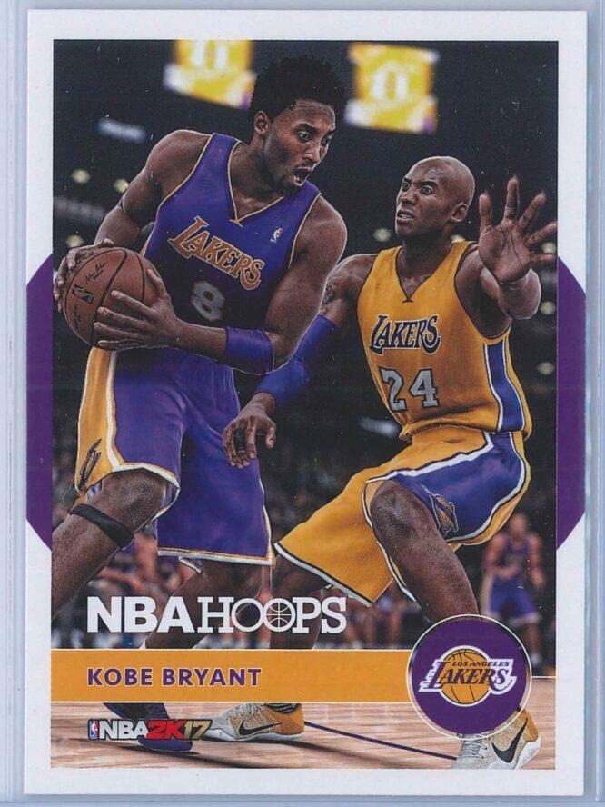 Kobe Bryant Panini NBA Hoops Basketball 2016-17 Kobe 2K17 Hoops   #19