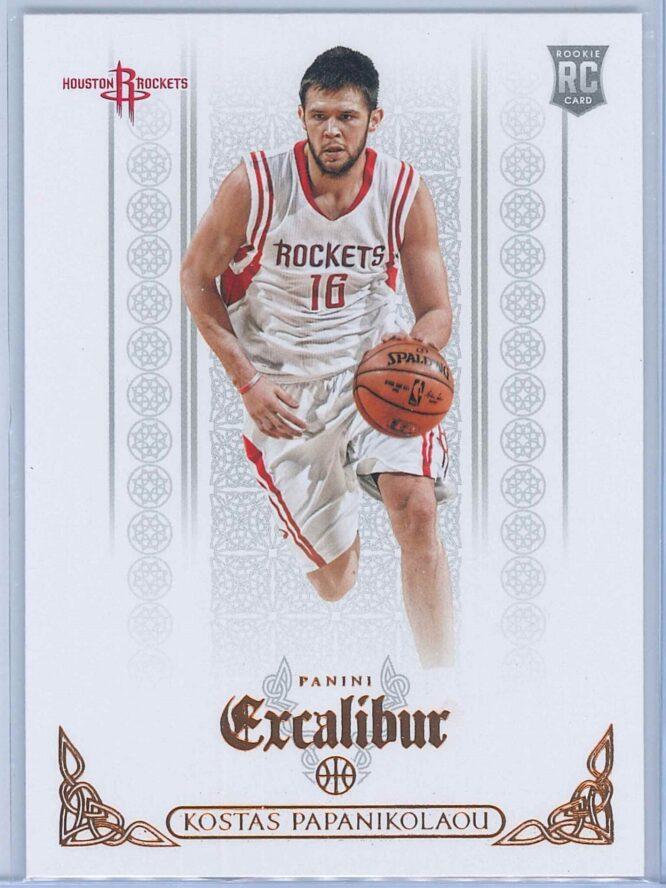 Kostas Papanikolaou Panini Excalibur Basketball 2014-15 Base   RC