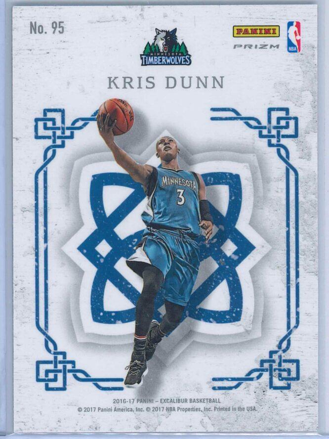 Kris Dunn Panini Excalibur Basketball 2016 17 Crusade Camo 2