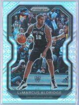 LaMarcus Aldridge Panini Prizm Basketball 2020-21 Base Silver Prizm