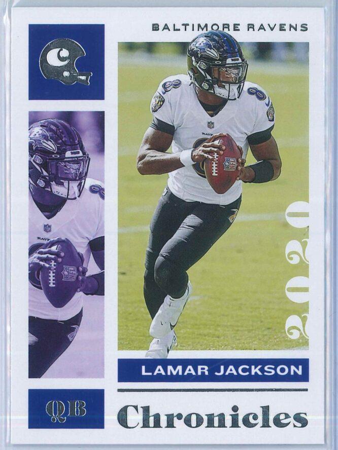 Lamar Jackson Panini Chronicles Football 2020 Base
