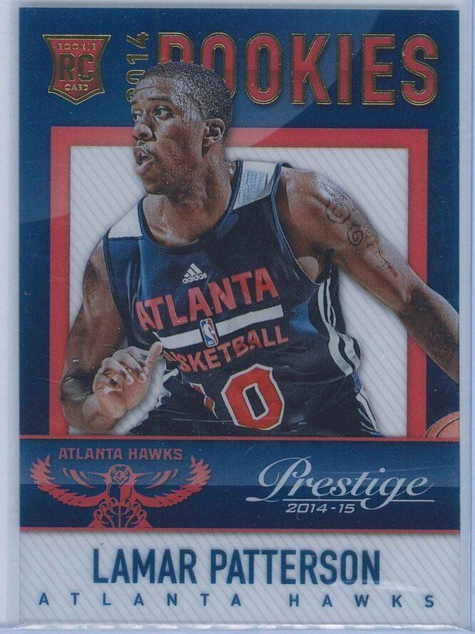 Lamar Patterson Panini Prestige Basketball 2014-15 Mystery Rookies