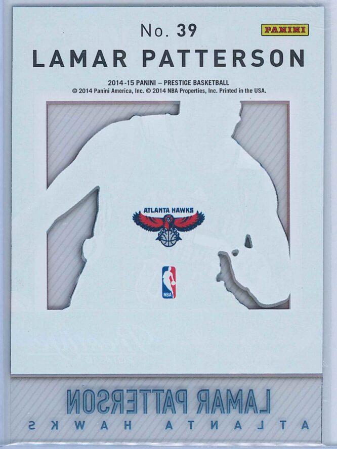 Lamar Patterson Panini Prestige Basketball 2014 15 Mystery Rookies 2