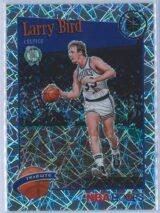 Larry Bird Panini NBA Hoops Premium Stock 2019-20 Tribute Silver Laser Prizm