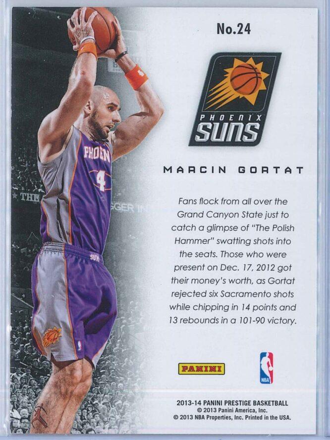Marcin Gortat Panini Prestige Basketball 2013 14 Franchise Favorites 2