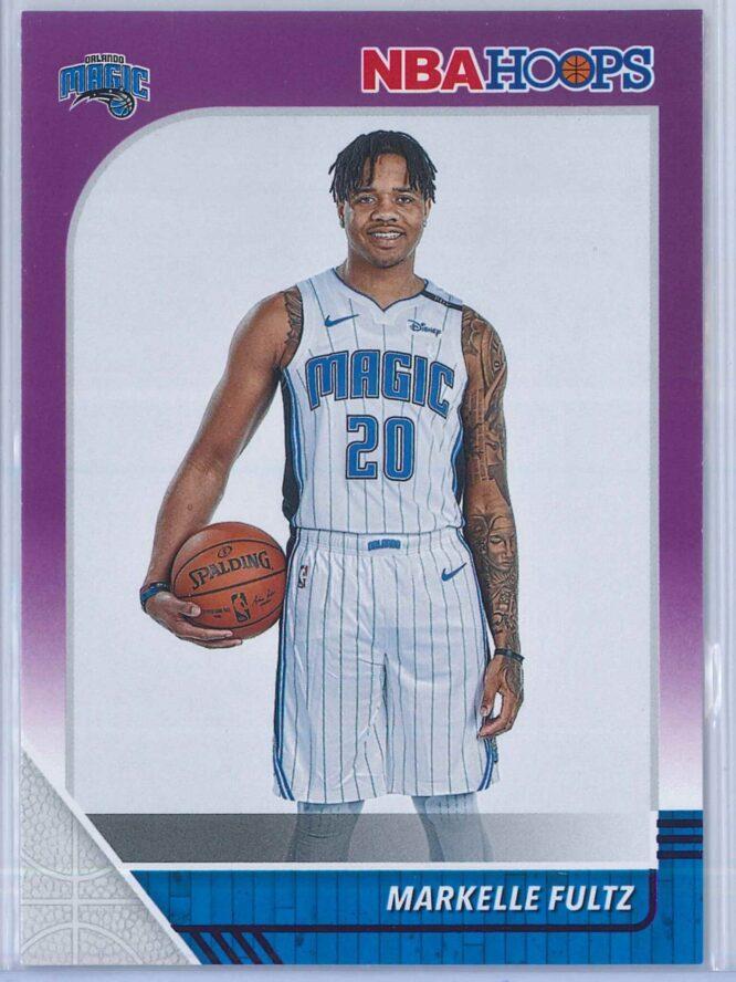 Markelle Fultz Panini NBA Hoops 2019-20  Purple