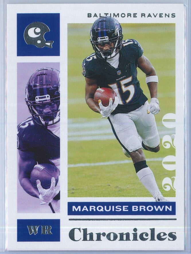 Marquise Brown Panini Chronicles Football 2020 Base