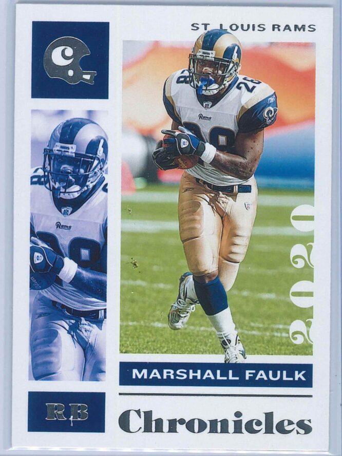 Marshall Faulk Panini Chronicles Football 2020 Base