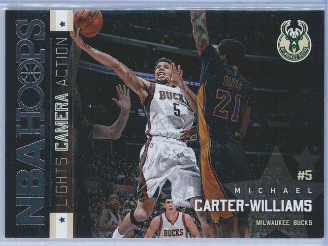 Michael Carter Williams Panini NBA Hoops Basketball 2015-16 Lights Camera Action