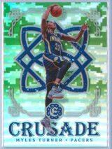 Myles Turner Panini Excalibur Basketball 2016-17 Crusade Camo