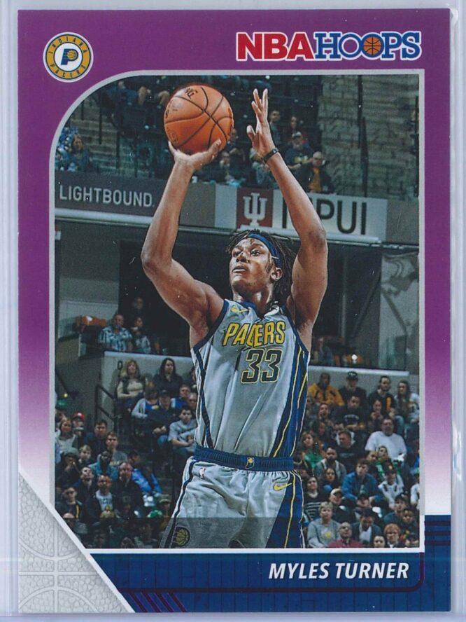 Myles Turner Panini NBA Hoops 2019-20  Purple