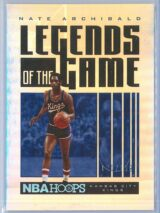 Nate Archibald Panini NBA Hoops 2020 21 Legends Of The Game Silver 120199 1