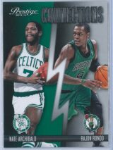 Nate Archibald - Rajon Rondo Panini Prestige Basketball 2013-14 Connections