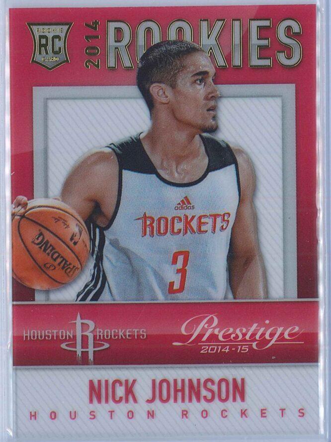 Nick Johnson Panini Prestige Basketball 2014-15 Mystery Rookies