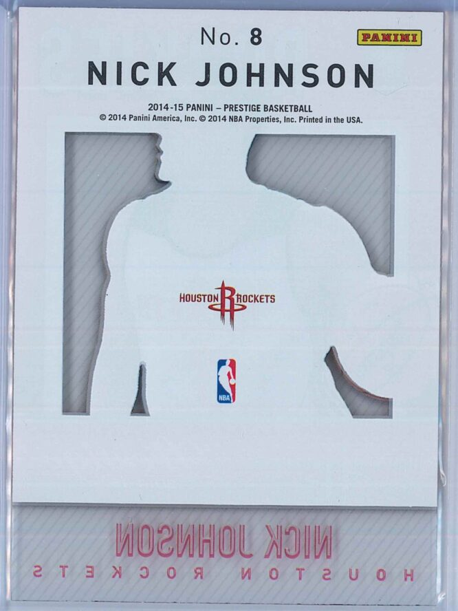 Nick Johnson Panini Prestige Basketball 2014 15 Mystery Rookies 2