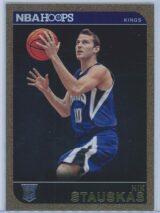 Nik Stauskas Panini NBA Hoops Basketball 2014-15 Base Gold  RC