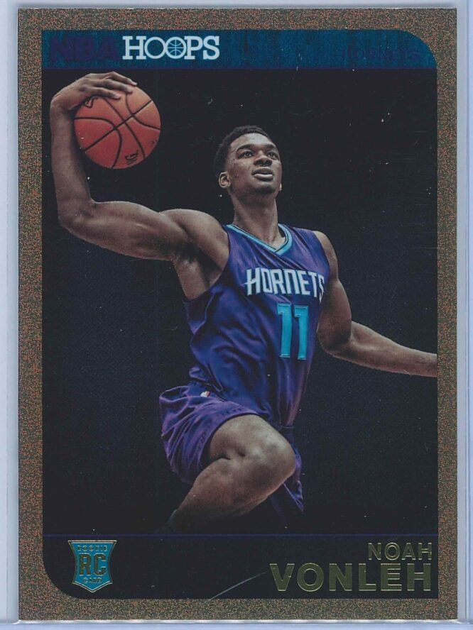 Noah Vonleh Panini NBA Hoops Basketball 2014-15 Base Gold  RC