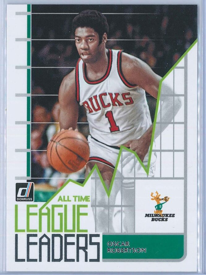 Oscar Robertson Panini Donruss Basketball 2020-21 All Time League Leaders