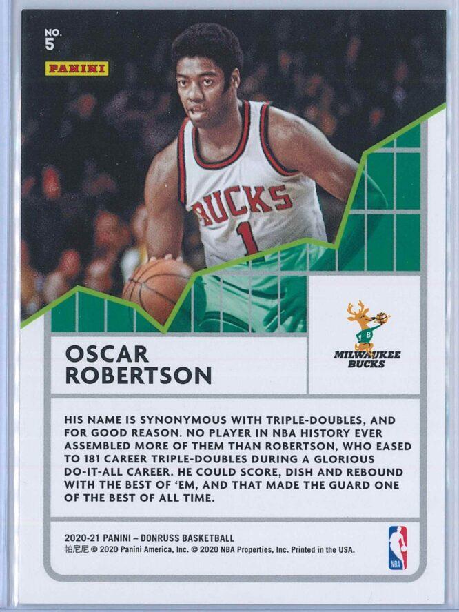 Oscar Robertson Panini Donruss Basketball 2020 21 All Time League Leaders 2