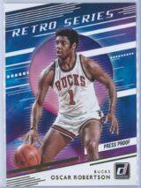 Oscar Robertson Panini Donruss Basketball 2020-21 Retro Series   Press Proof