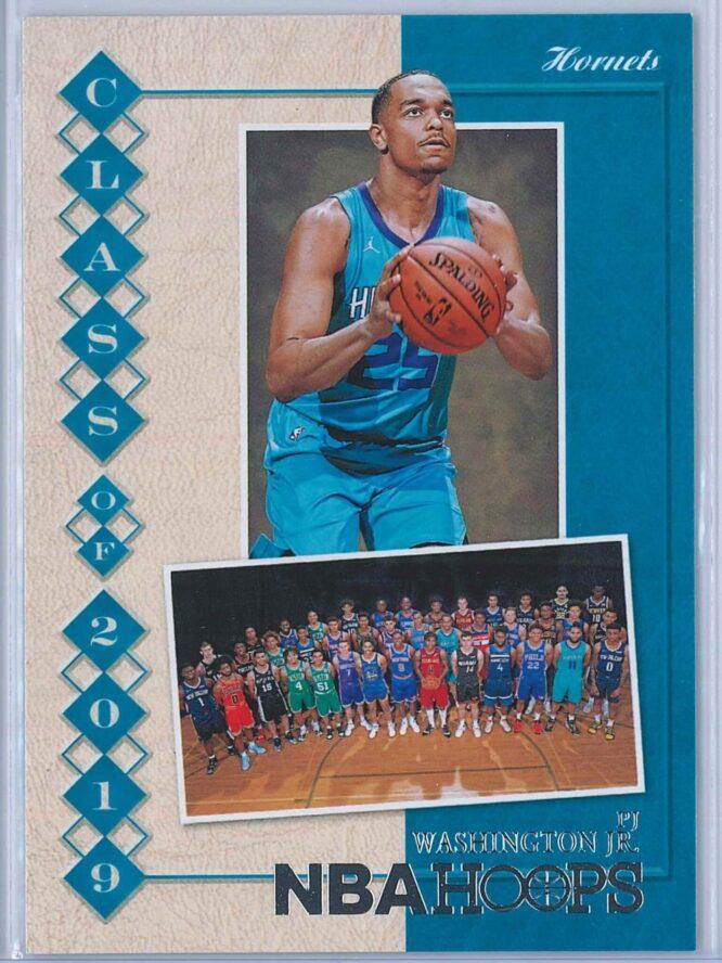 PJ Washington Panini NBA Hoops 2019-20 Class of 2019