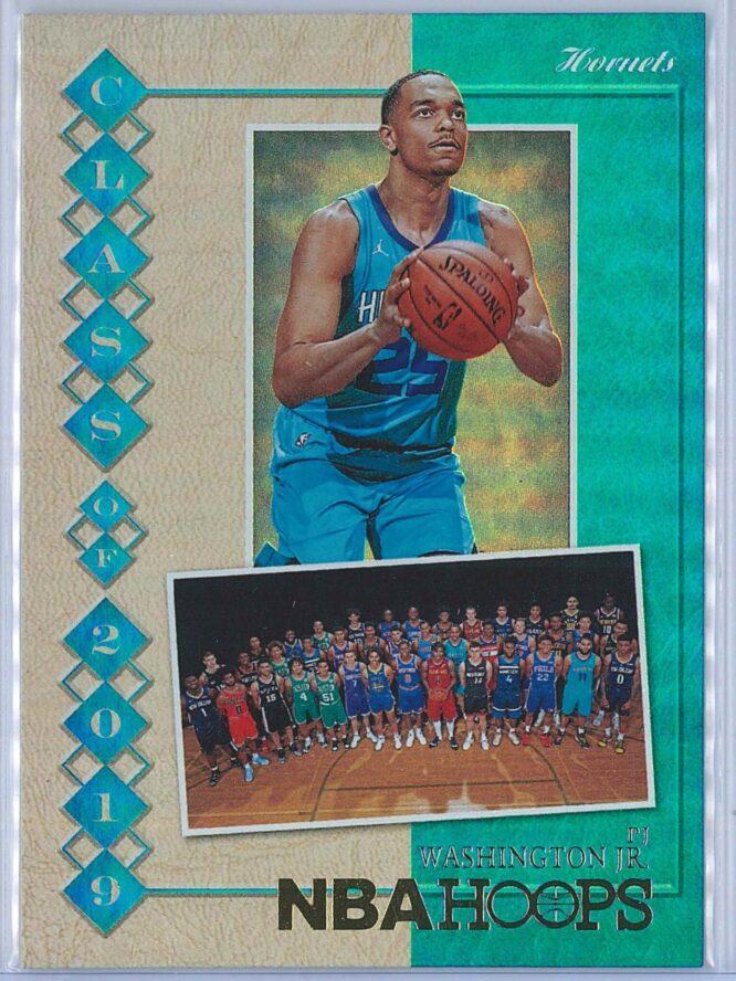 PJ Washington Panini NBA Hoops 2019-20 Class of 2019 Holo