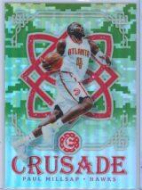 Paul Millsap Panini Excalibur Basketball 2016-17 Crusade Camo