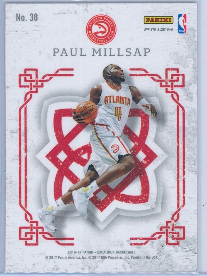 Paul Millsap Panini Excalibur Basketball 2016 17 Crusade Camo 2
