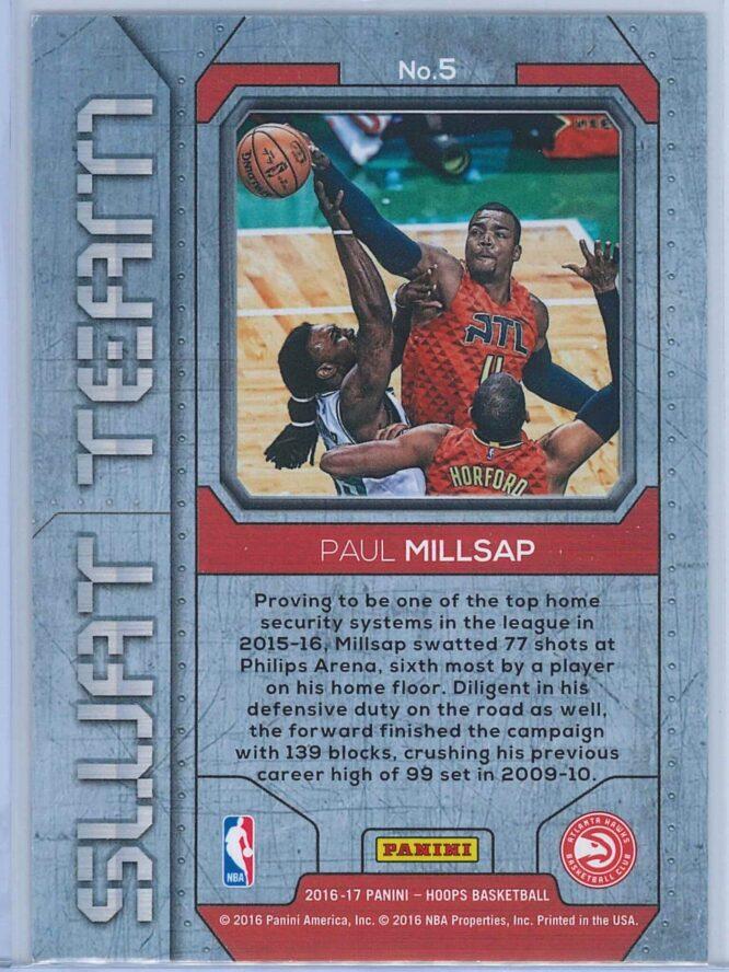 Paul Millsap Panini NBA Hoops Basketball 2016 17 Swat Team 2