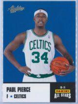 Paul Pierce Panini Absolute Memorabilia 2010-11 Panini All Stars