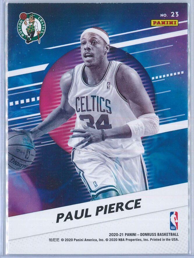 Paul Pierce Panini Donruss Basketball 2020 21 Retro Series 2
