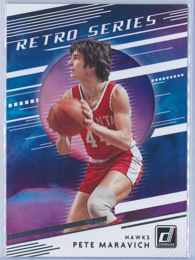Pete Maravich Panini Donruss Basketball 2020-21 Retro Series