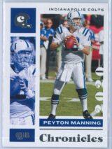 Peyton Manning Panini Chronicles Football 2020 Base