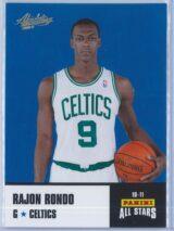 Rajon Rondo Panini Absolute Memorabilia 2010-11 Panini All Stars