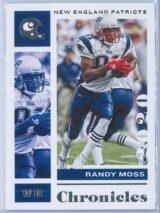 Randy Moss Panini Chronicles Football 2020 Base
