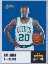 Ray Allen Panini Absolute Memorabilia 2010-11 Panini All Stars