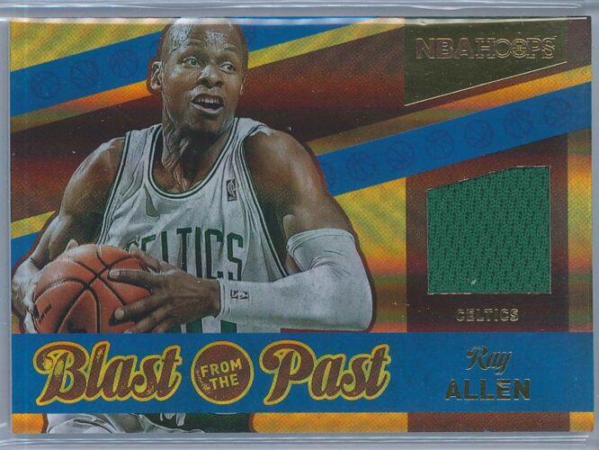 Ray Allen Panini NBA Hoops 2014-15 Blast From The Past Memorabilia