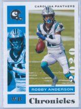Robby Anderson Panini Chronicles Football 2020 Base