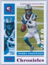 Robby Anderson Panini Chronicles Football 2020 Base Pink