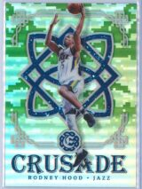 Rodney Hood Panini Excalibur Basketball 2016-17 Crusade Camo