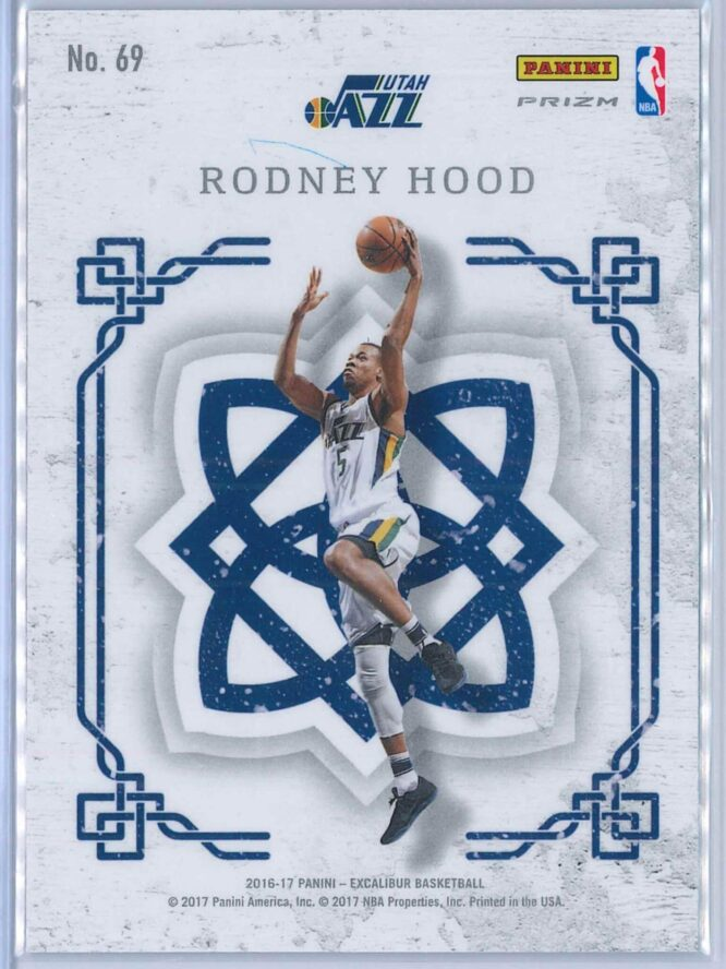 Rodney Hood Panini Excalibur Basketball 2016 17 Crusade Camo 2