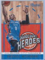 Russell Westbrook Panini Prestige Basketball 2013-14 Hardcourt Heroes