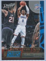 Russell Westbrook Panini Prestige Basketball 2016-17 Stat Stars