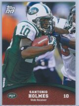 Santonio Holmes Topps Football 2011 Rising Rookies