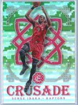 Serge Ibaka Panini Excalibur Basketball 2016-17 Crusade Camo