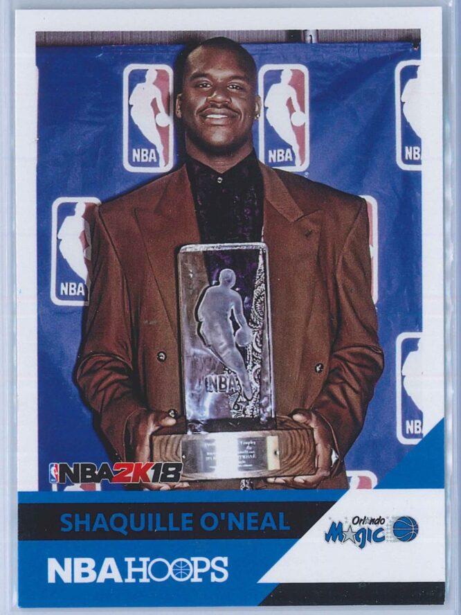 Shaquille O'neal Panini NBA Hoops 2017-18 NBA 2K