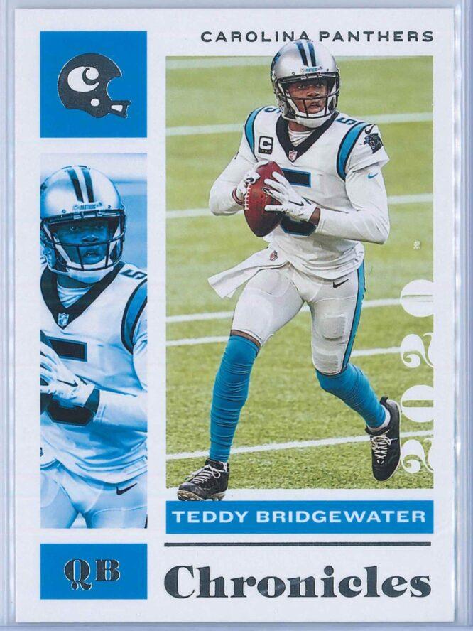 Teddy Bridgewater Panini Chronicles Football 2020 Base