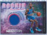 Terrance Ferguson Panini NBA Hoops 2018-19 Rookie Remembrance Relic