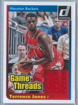 Terrence Jones Panini Donruss Basketball 2014-15 Game Threads