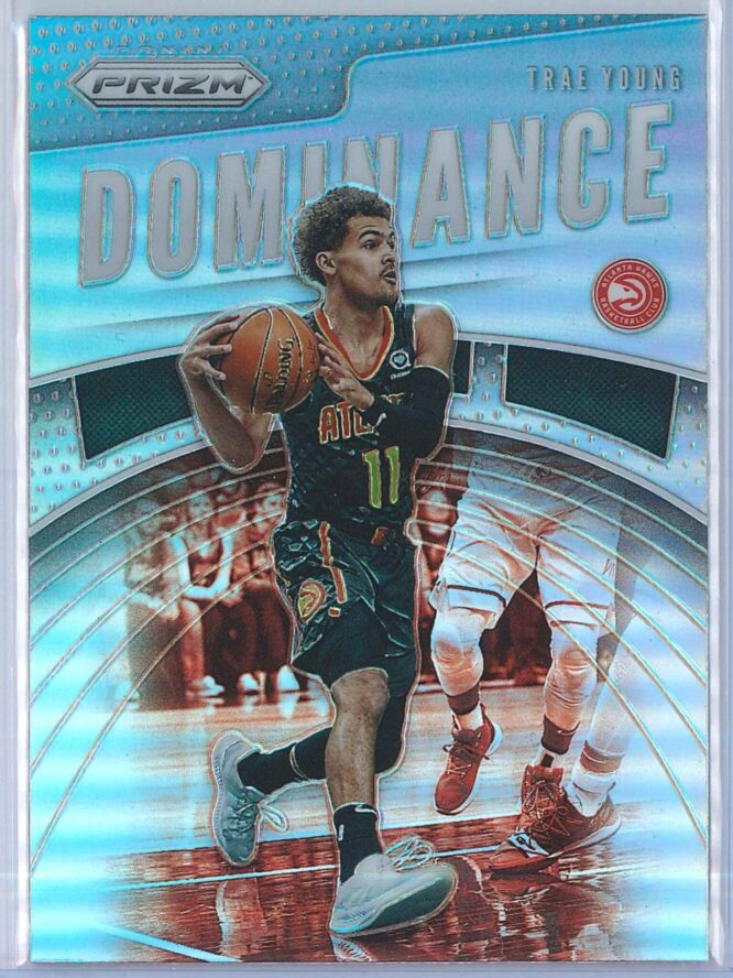 Trae Young Panini Prizm 2019-20 Dominance Silver